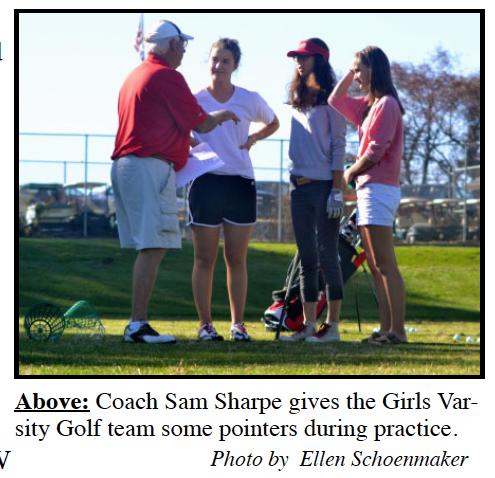 Girls Golf focuses on individual improvement
