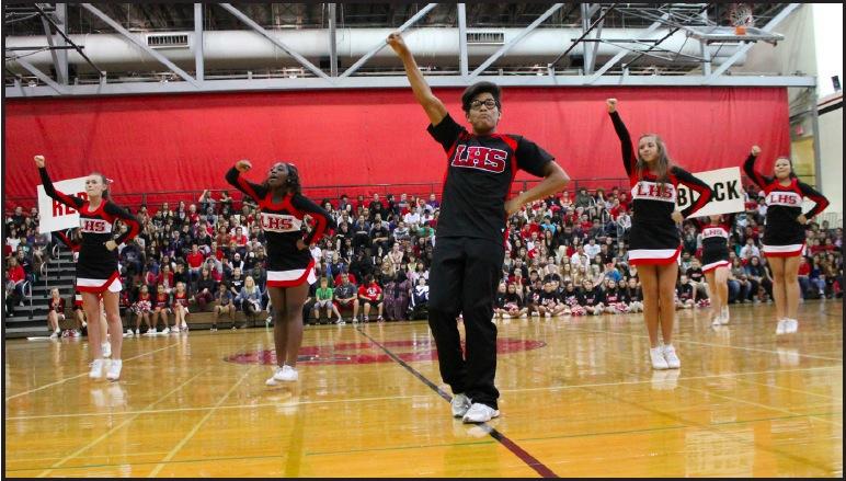 LHS Male Cheerleader Pushes Boundaries