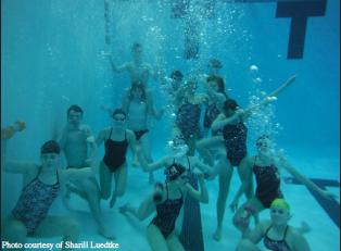 Making a Splash: LHS Swimmers more than a team