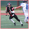 """CALEB BROWN SENIOR WR, CB #2 """"He is so fast."""" -CJ Jones """"We're lucky he transferred.  He's a leader and he also gets us the points.  It's what Lincoln High needed."""" -Dajon Thomas"""