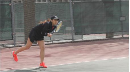 Girls Tennis Dominates season
