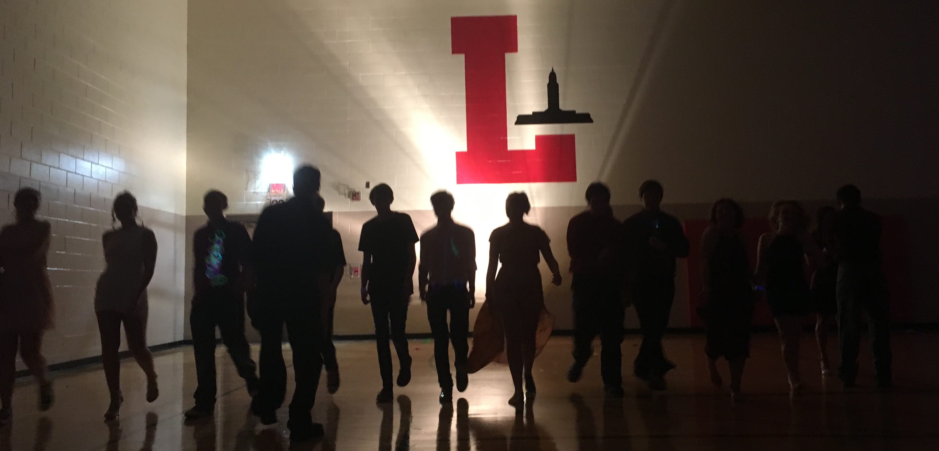 Students take to the floor at Homecoming on Sept. 1, 2017 in the South Gym. Photo courtesy of Joshua Lupher