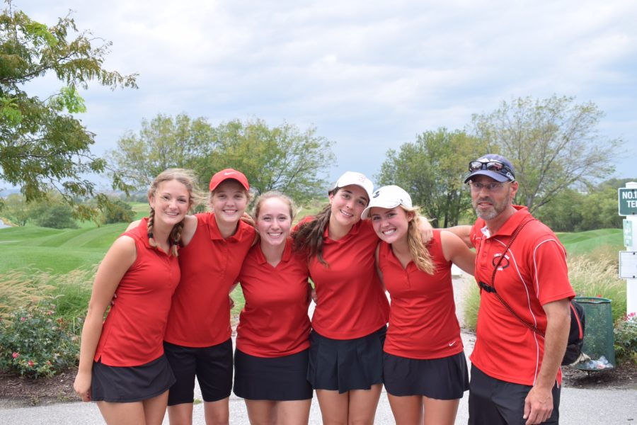 Girls Golf Drives Away the Competition