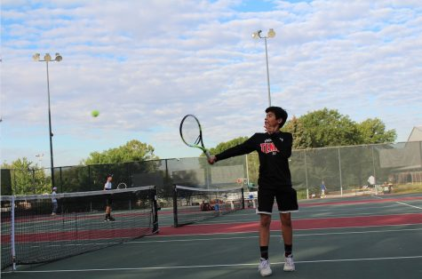 Causing a racquet: Boys varsity tennis heads to state