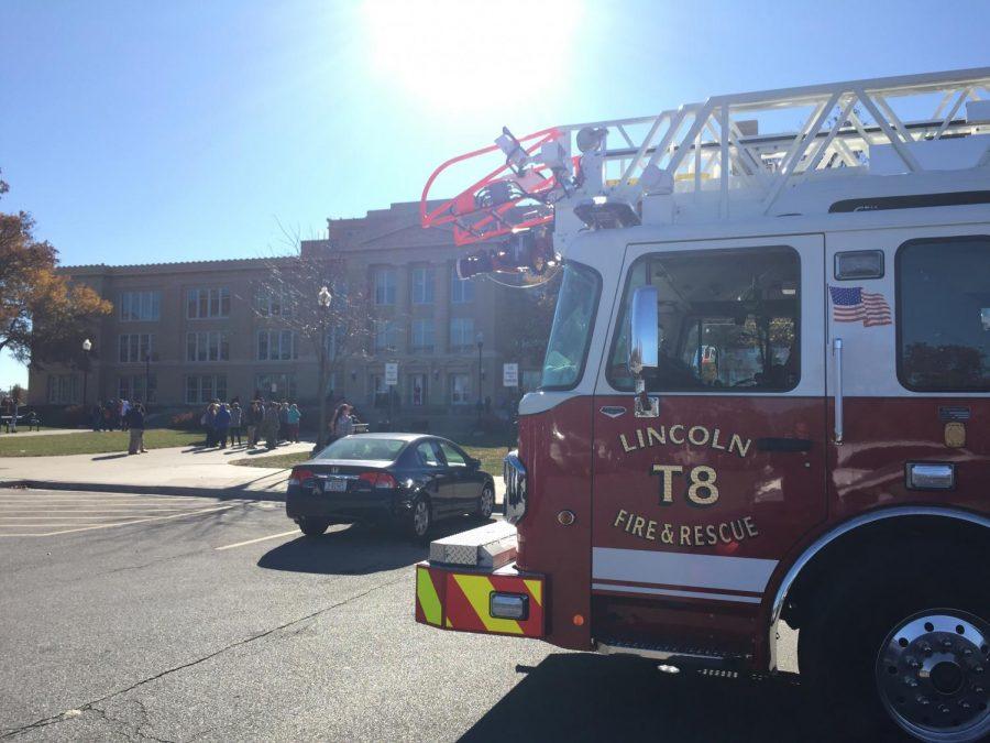 Faulty smoke detector empties building