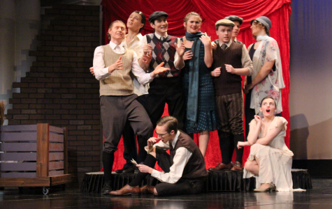"Lincoln High One Act, gears up for districts with ""Skinflints & Scoundrels"""