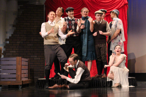 """Lincoln High One Act, gears up for districts with """"Skinflints & Scoundrels"""""""