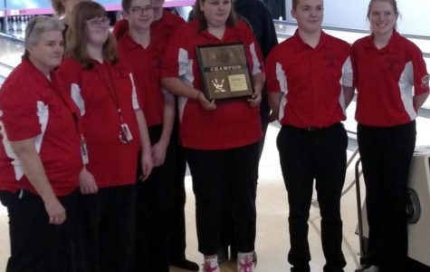 Unified Bowling Team brings home another district win for LHS