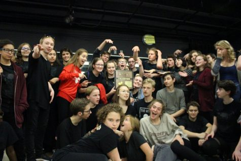 LHS Theatre takes Districts with perfect score