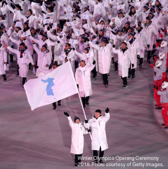 Winter Olympics: Chance to reunify?