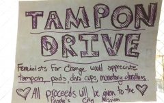 LHS partners with LSE for 4th annual Tampon Drive