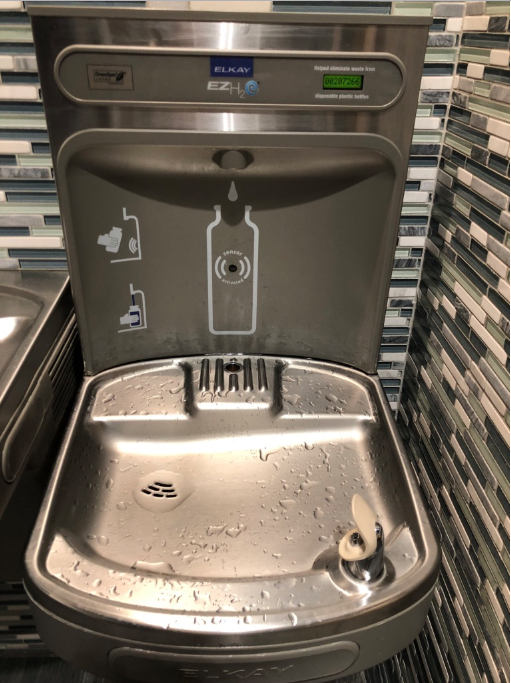 Water bottle fountains could help keep students hydrated