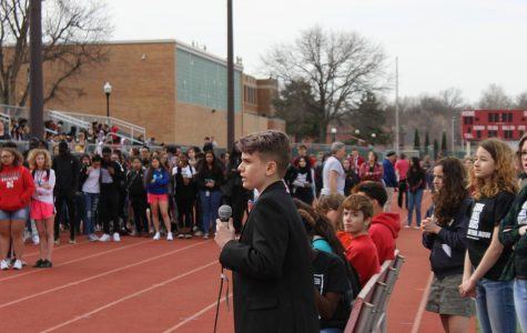 The Silence is Over: Students stage walkout to protest gun-violence