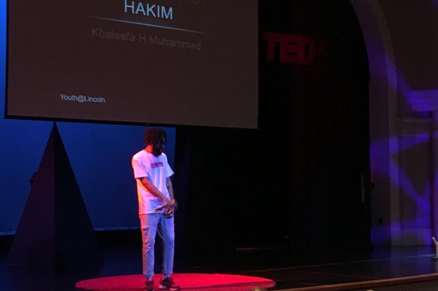 Musical+Performer+Hakim+opens+up+for+TEDxYouth+on+August+11%2C+2018+at+Lincoln+High%E2%80%99s+Ted+Sorensen+Theatre.