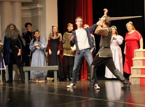 Knights of the Round Table take center stage for fall show