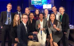 Lincoln High's DECA club qualifies for ICDC on March 16, 2018.