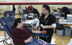 Blood drive draws on!