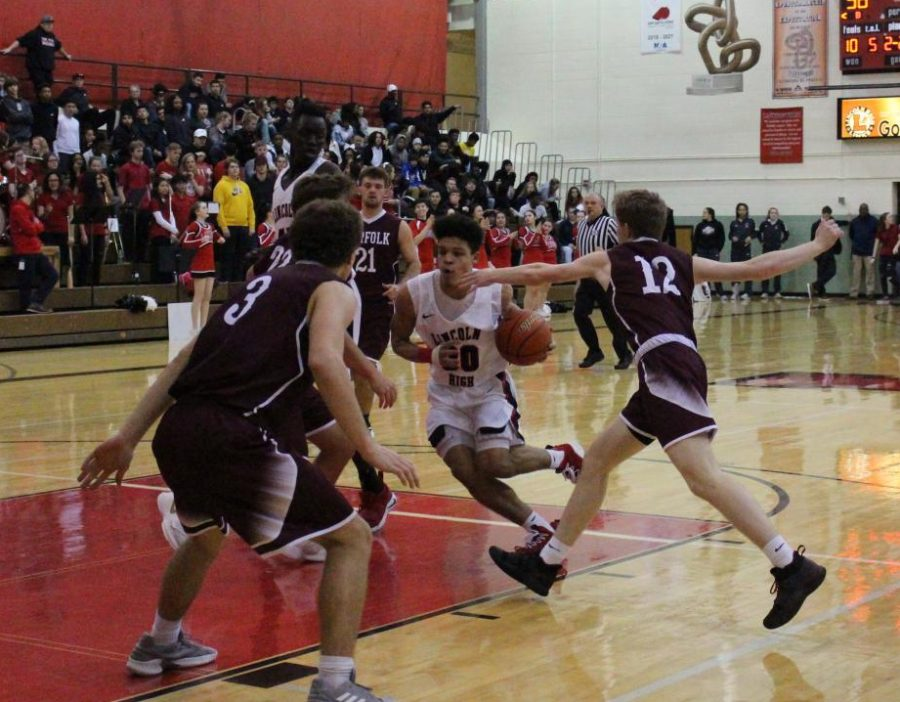 LHS Girls and Boys Basketball send Norfolk home with an 'L'