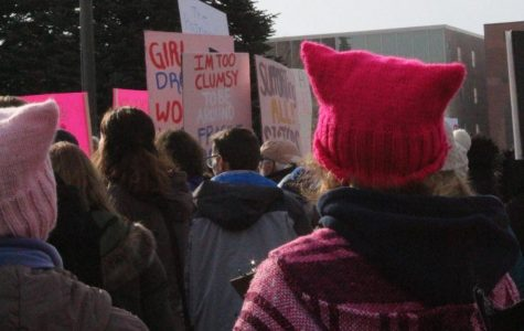 Women take to the streets of Lincoln to advocate for their rights