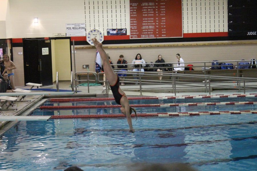 Swim for Hunger: LHS Swim Team uses personal goals to help community