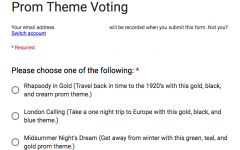Prom theme voting is open!