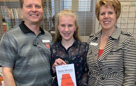 Over the Moon: Sophomore Lauren Moon wins Google Science Fair for Nebraska