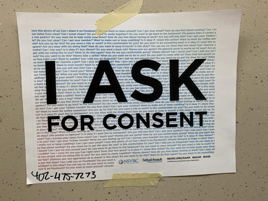Signs+like+this+are+scattered+around+Lincoln+High%2C+emphasizing+the+importance+of+consent.+The+phone+number+at+the+bottom+is+to+the+Voices+of+Hope+Crisis+Hotline%2C+which+provides+crisis+intervention+to+victims+of+sexual+assault+and+abuse.+