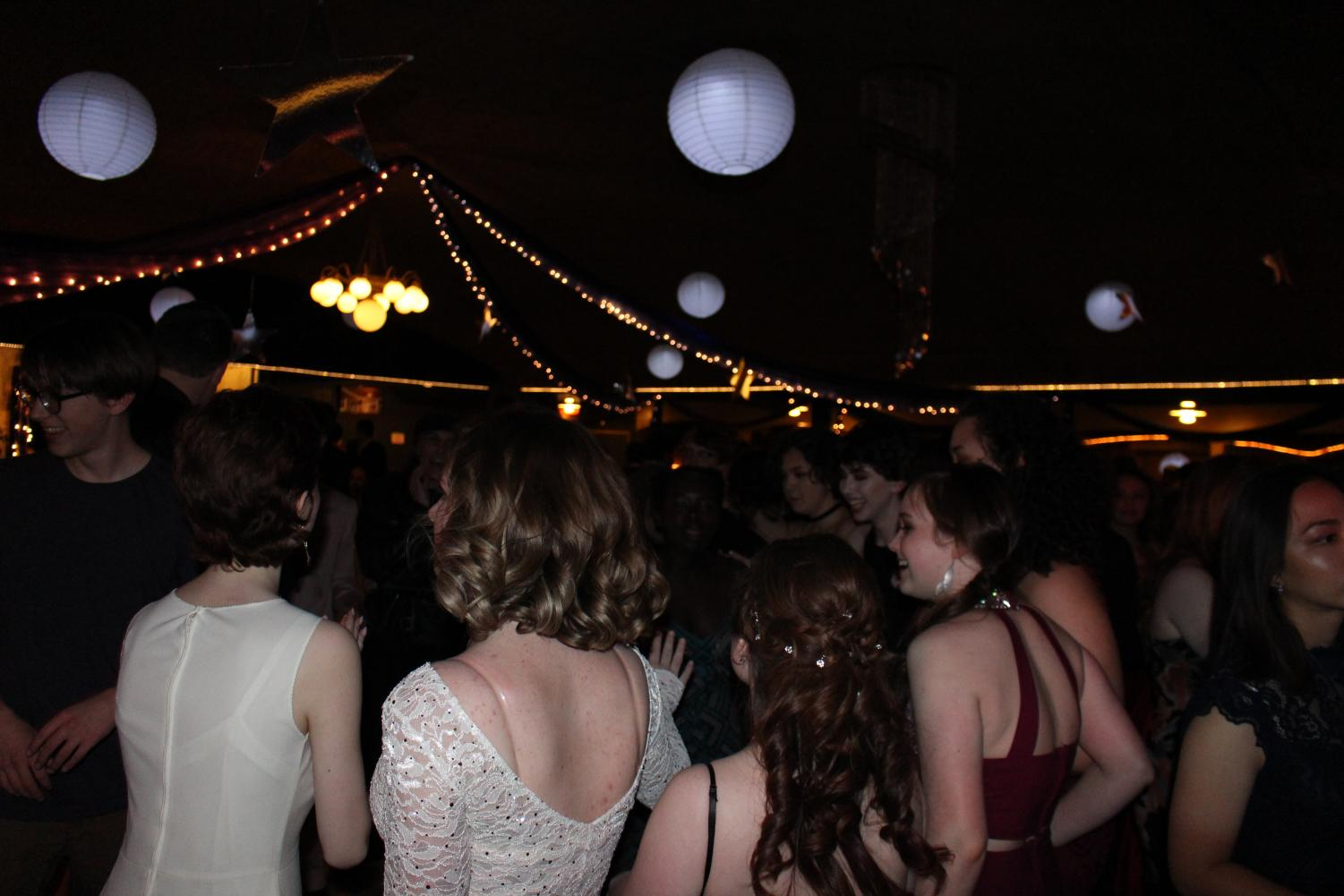 Students dance at the 2018 LHS Prom on April 14th, 2018 at the Pla Mor Ballroom. This year's prom is on Saturday, April 27th, 2019, which starts at 8:30 p.m. Photo by Denny Nelson