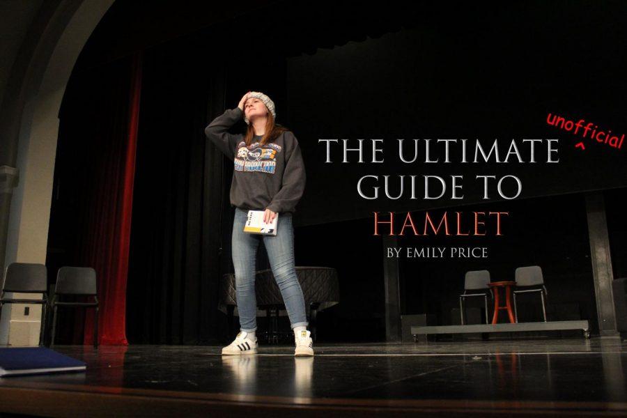 Meg Arenz (12) gives Hamlet's infamous
