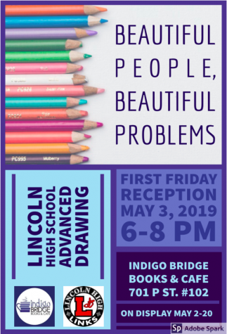 "LHS students to be featured in ""First Friday"" Art events"