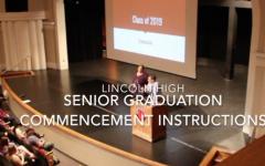 Senior Graduation Commencement Information