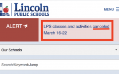 LPS cancels all classes, activities the week of March 16-22 in response to COVID-19 Coronavirus