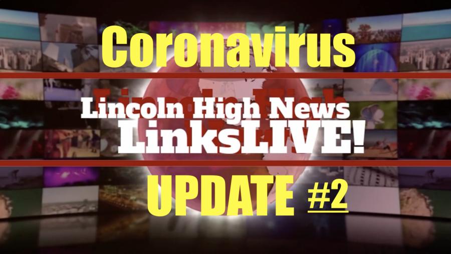 LinksLIVE! The LHS News Broadcast 3/27/2020 *Coronavirus Edition*