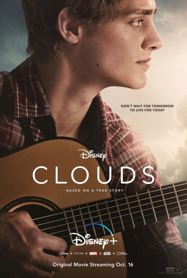 Clouds movie poster courtesy of Disney.