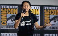 Chloe Zhao at San Diego Comic Con