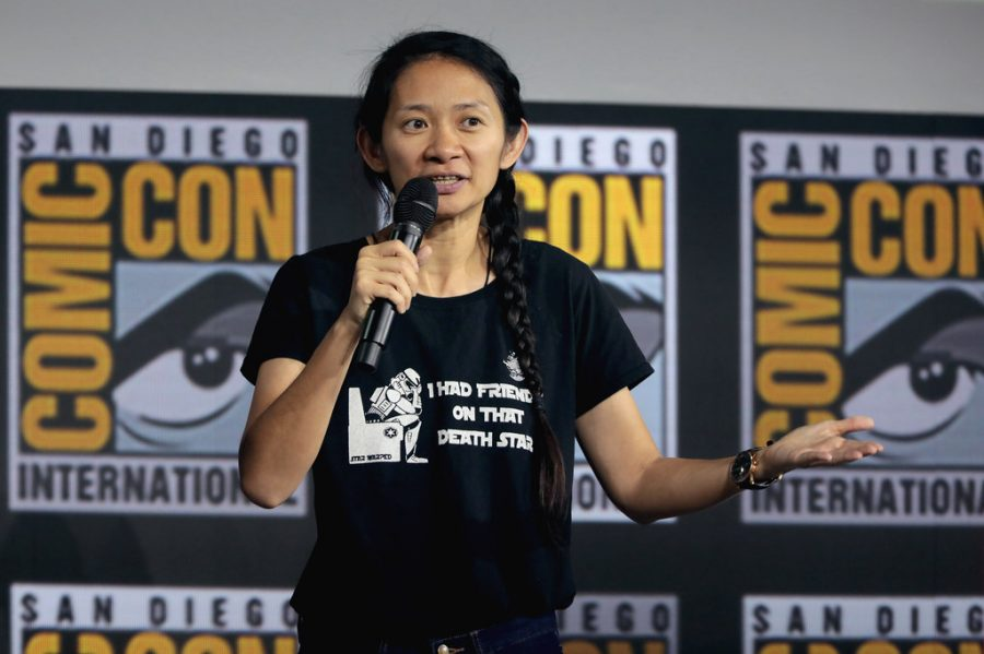 Chloe Zhao at San Diego Comic Con