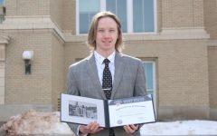 Navigation to Story: Senior Garrett Salisbury accepted into West Point